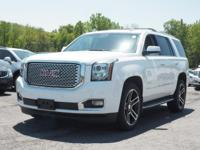 For a smoother ride, opt for this 2015 GMC Yukon Denali