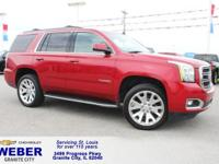 Recent Arrival! Maroon GMC Yukon ABS brakes, Compass,