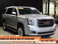2015 GMC Yukon SLE in Gray, GM Certified, and Non