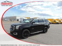 Options:  2015 Gmc Yukon Sle|Black|Black Cloth|Includes