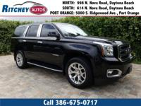 CERTIFIED PRE-OWNED 2015 GMC YUKON SLT 4WD**CLEAN CAR