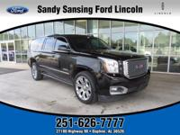 4WD. Jet Black! Come to the experts!This 2015 Yukon XL