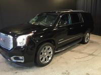 2015 GMC Yukon XL Denali in Onyx Black, GM Certified,