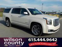 2015 GMC Yukon XL Denali EcoTec3 6.2L V8 White Diamond