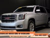 2015 GMC Yukon XL SLE 1500 in Quicksilver Metallic and