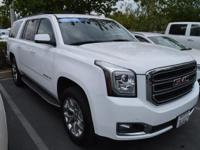 Clean CARFAX. Certified. Summit White 2015 GMC Yukon XL