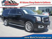 SLT trim. CARFAX 1-Owner, GMC Certified. Heated/Cooled