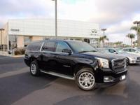 Options:  2015 Gmc Yukon Xl Slt 1500|Black|Driver Alert