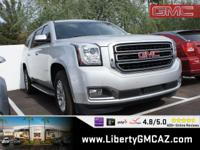 Silver 2015 GMC Yukon XL SLT 1500 4WD 6-Speed Automatic