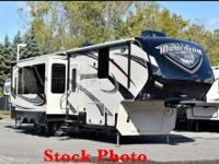 Momentum 380th Toy Hauler Sleeps 6, 2 Radios, Speaker