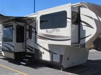 2015 Grand Design Solitude 379 FL 5th Wheel, This never