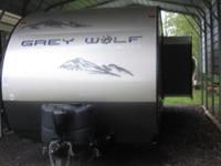 We are selling our 2015 Grey Wolf Travel Trailer. It is