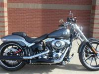 2015 Harley-Davidson Breakout Up to 84 Month Financing