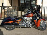 Motorcycles CVO 1750 PSN. This is the hot rod bagger