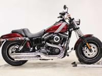 2015 Harley-Davidson Fat Bob New the Fat Bob bike.