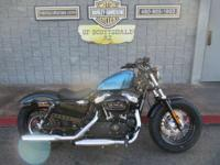 2015 Harley-Davidson Forty-Eight CANCUN BLUE With a fat