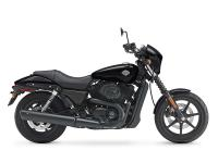 The Street 500 motorbike is a Harley-Davidson Dark