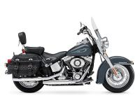 Revealed in Superior Blue. Motorcycles Softail 1019