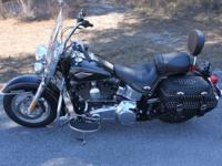2015 Harley-Davidson Heritage Softail CLASSIC, Black