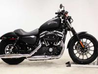 2015 Harley-Davidson Iron 883 New This blacked-out