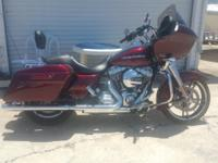 2015 HARLEY DAVIDSON ROAD GLIDE FLTRX SUNGLOW RED 1570