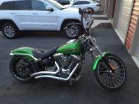 2015 Harley Davidson Softail Breakout with ABS in rare
