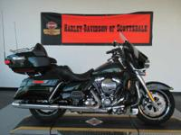 2015 Harley-Davidson Ultra Limited DEEP JADE PEARL the