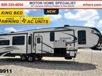 2015 Heartland ElkRidge 35TSRL W/ 3 Slides & & King Bed