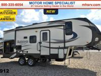 This gorgeous fifth wheel likewise consists of the