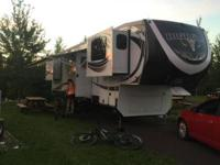 2015 Bighorn 3755 Front Living room is great for