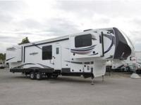 2015 Bighorn 3750FL front living room five slide luxury