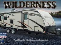 2015 Heartland Wilderness 2850BH Double Queen Bunk Sli