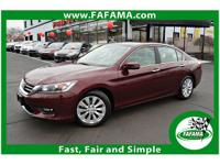 This 2015 Honda Accord Sedan 4dr EX features a 2.4L 4