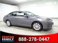 Step into the 2015 Honda Accord! It just arrived on our