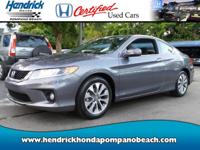HONDA CERTIFIED! *ONE OWNER* CLEAN CARFAX! ONLY 14,183