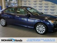 Recent Arrival! This 2015 Honda Accord EX in Obsidian