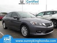 Recent Arrival! 2015 Honda Accord EX Modern Steel