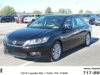 2015 Honda Accord EX Black  Options:  185 Hp