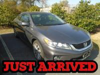 CarFax One Owner! This Honda Accord Coupe is CERTIFIED!
