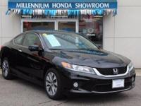 This Honda Certified Accord Coupe 2dr I4 CVT EX-L  has