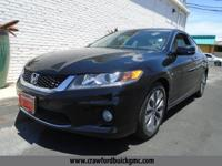 Come see this 2015 Honda Accord Coupe EX-L. Its