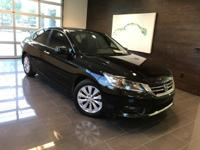 CARFAX One-Owner. Crystal Black Pearl 2015 Honda Accord