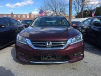 Drive away with this beautiful 2015 Honda Accord. Down