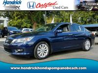 HONDA CERTIFIED! *ONE OWNER* CLEAN CARFAX! GREAT MILES