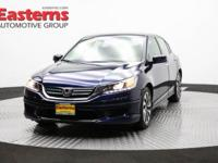 New Price! Recent Arrival! 2015 4D Sedan Blue 2015