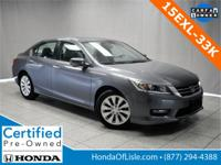 CARFAX One-Owner. Certified. Modern Steel Metallic 2015