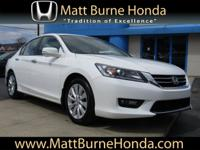Purchased, serviced and traded at Matt Burne Honda!