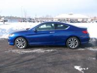 Body Style: Coupe Engine: V6 Exterior Color: Blue