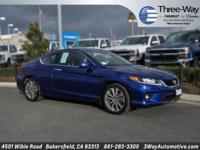 Options:  2015 Honda Accord Ex-L|Blue|Leather. Call And