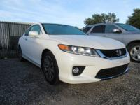 Options:  2015 Honda Accord Ex-L|White Orchid Pearl/|V6